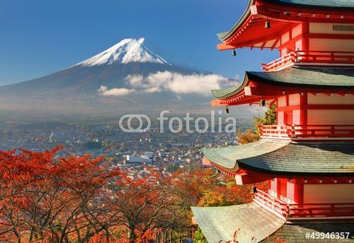Mt. Fuji i Pagoda