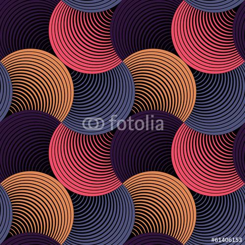 Ozdobna geometryczna płatek siatka, abstrakcjonistyczny wektorowy bezszwowy wzór