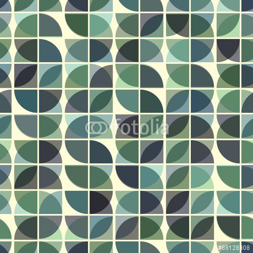 Streszczenie mozaiki retro wzór.