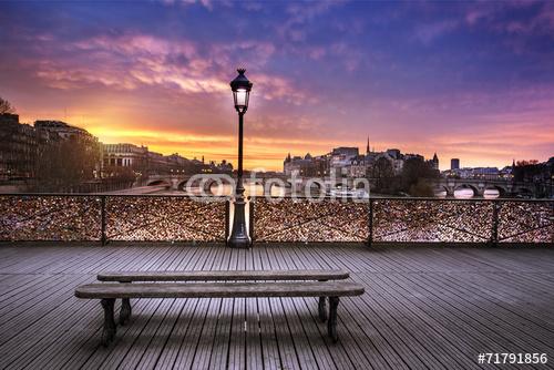 Pont des Arts Paryż Francja