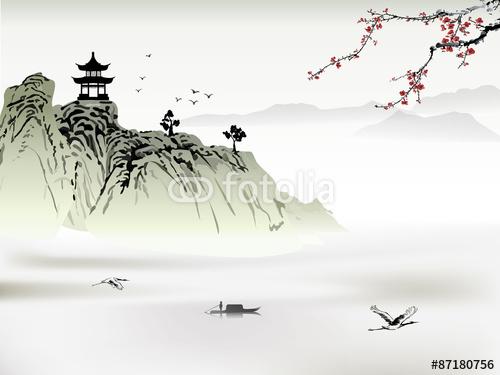 Chińskie malarstwo pejzażowe