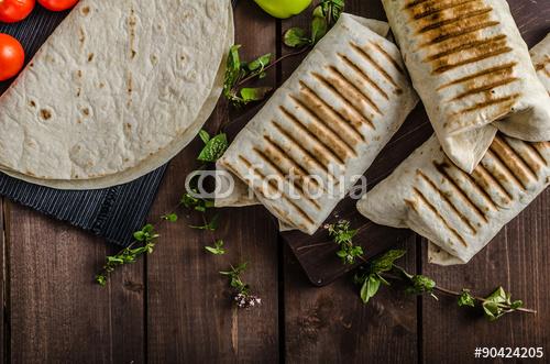 Śniadaniowe burrito