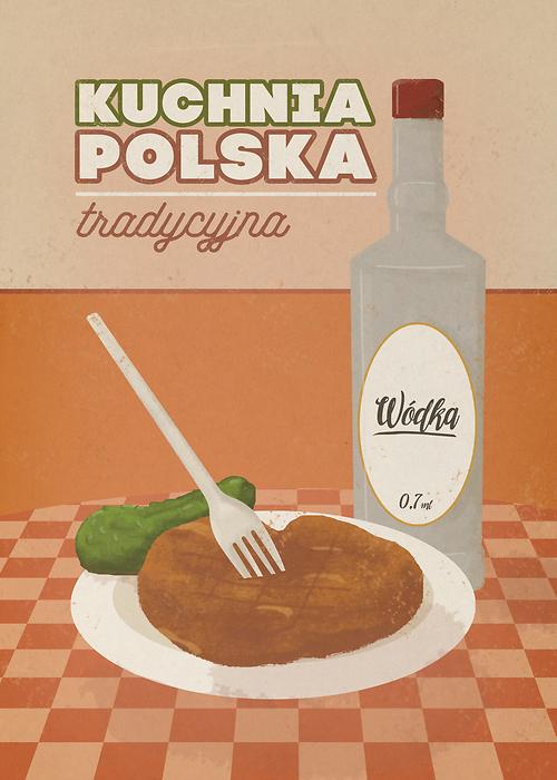 Ilustracja Kuchnia Polska