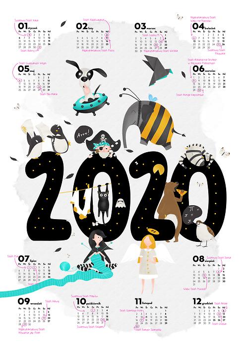 Kalendarz Swiat Nietypowych 2020