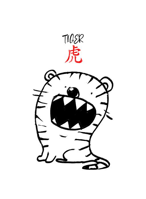 Chińskie Znaki Zodiaku Tygrys