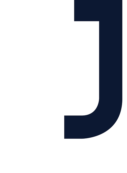 Litera J Plakaty Premium Decor Mint
