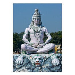 Sziwa - statua w Rishikesh, India